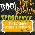 Halloween words - Les mots d'halloween en anglais - Cycle 2 - Cycle 3