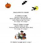 poème - halloween