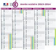 calendrier scolaire - 2013 - 2014